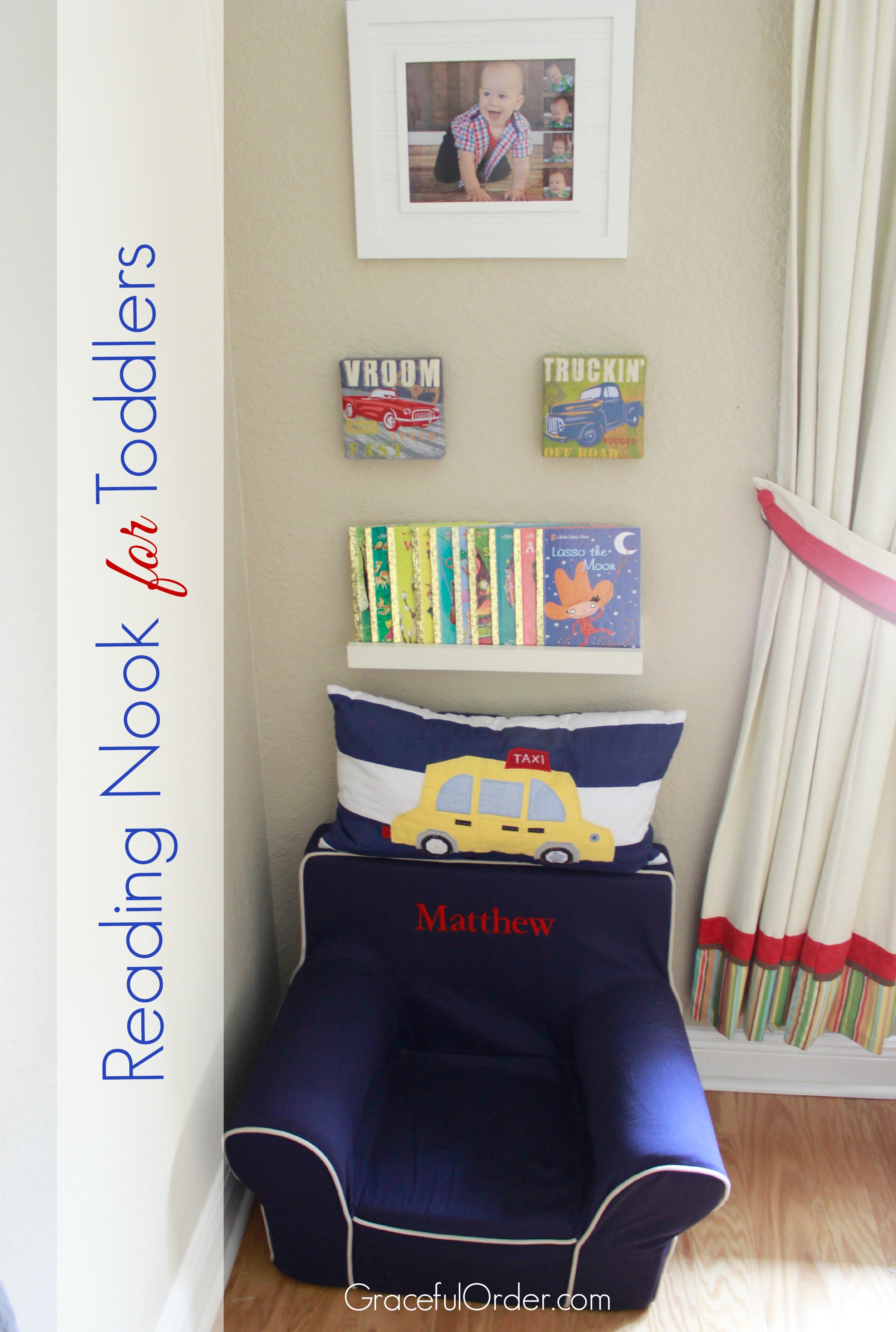 Reading Nook for Toddlers | A Bowl Full of Lemons