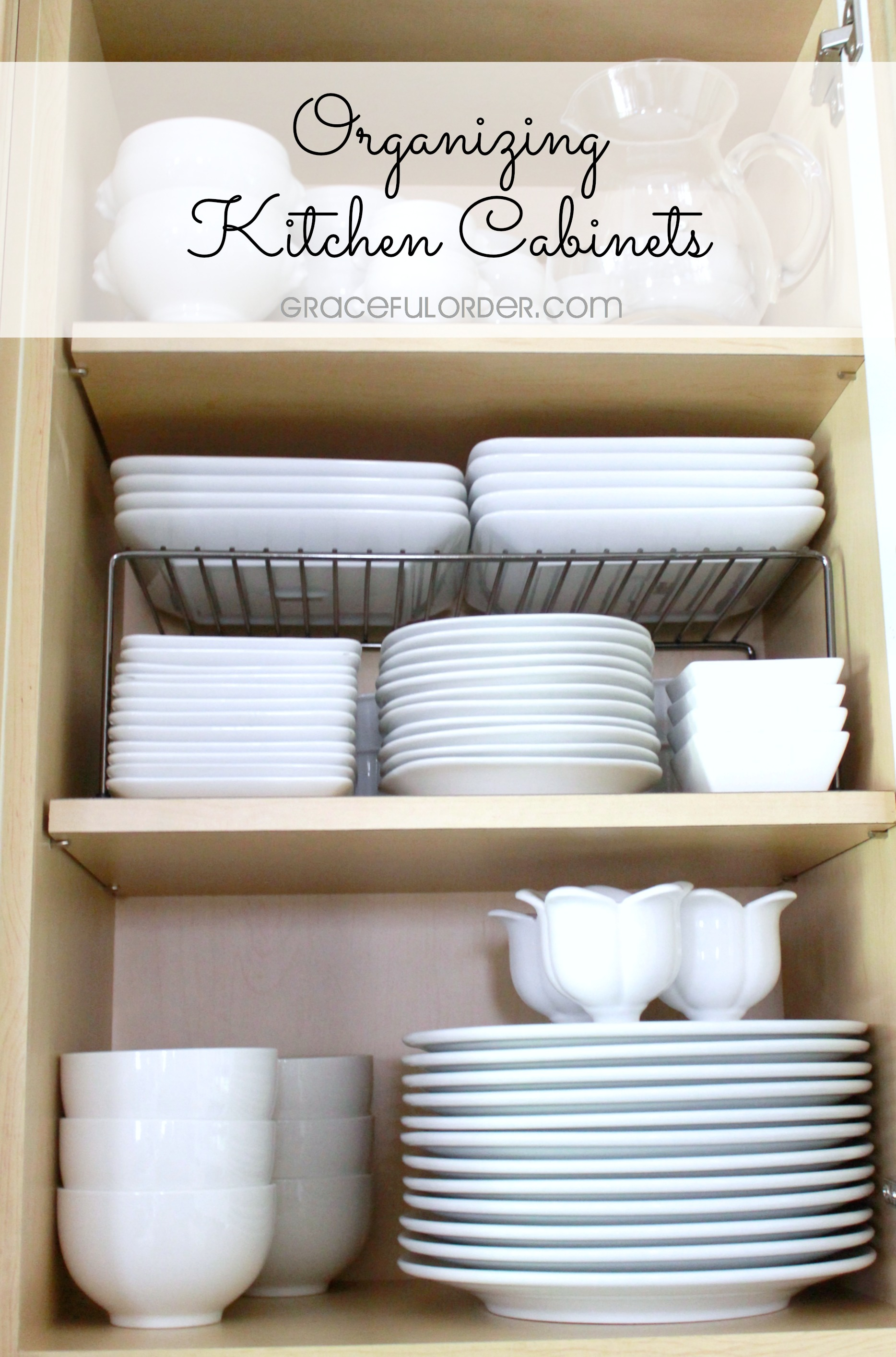 Organized Home Week 2 Kitchen Cabinets And Drawers: organizing kitchen cabinets and drawers