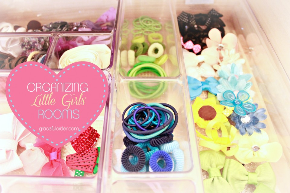 Organizing Tips for Girls' Rooms