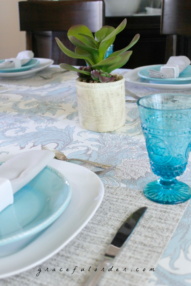 How to Set a Beautiful Table on a Budget