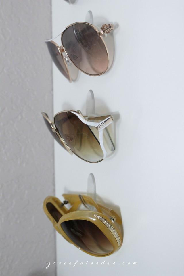 Organizing Sunglasses