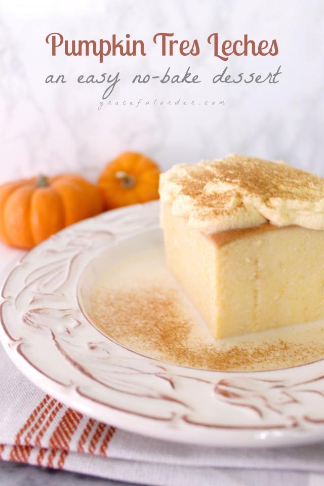 Easy No Bake Fall Desserts