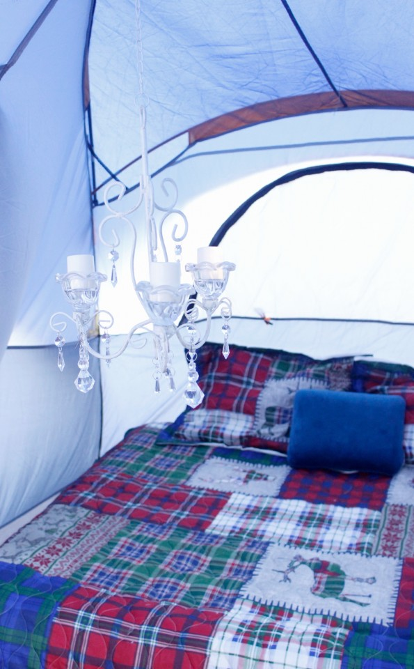 Glamping in the Fall