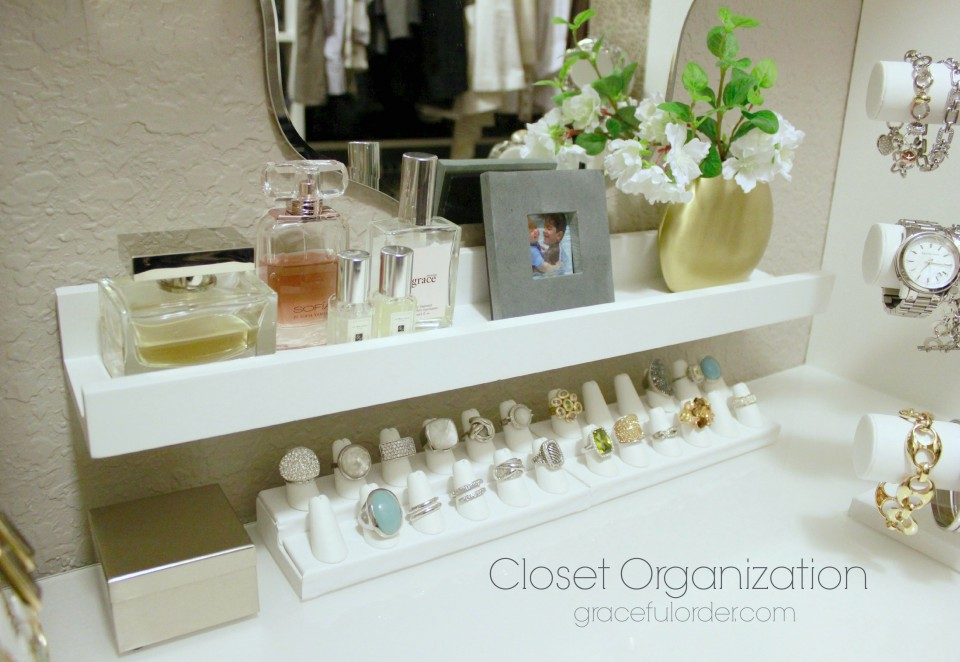 Picture Ledges as Storage Solutions