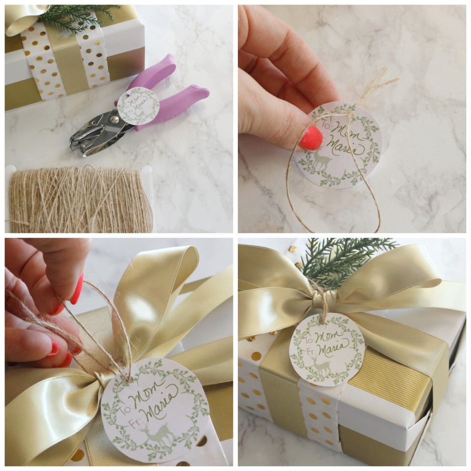 Gift Wrapping Tag