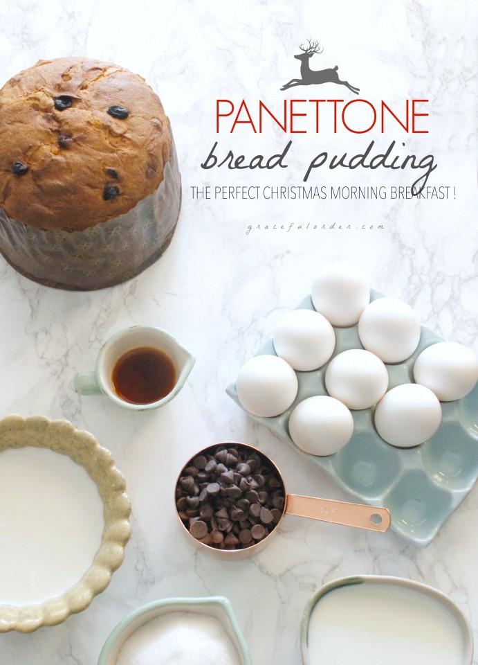 Panettone Bread Pudding 1